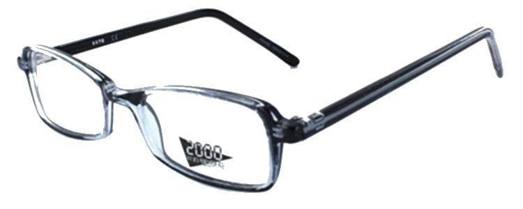 2070 - Blue Eyeglass Frame